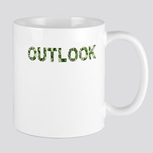 Outlook, Vintage Camo, Mug