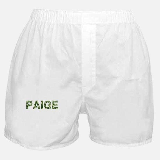 Paige, Vintage Camo, Boxer Shorts