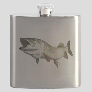 Toothy Musky Flask