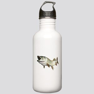 Toothy Musky Stainless Water Bottle 1.0L