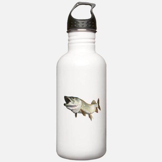 Toothy Musky Water Bottle