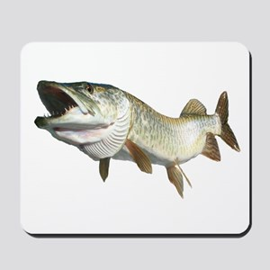 Toothy Musky Mousepad