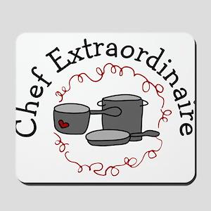 Chef Extraordinaire Mousepad