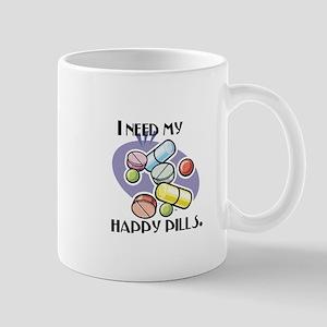 I Need My Happy Pills Mug