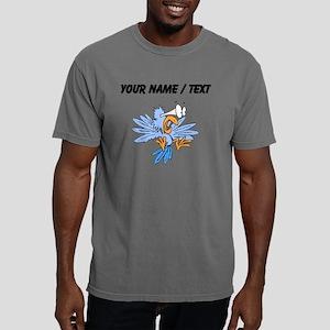 Custom Scared Bird Mens Comfort Colors Shirt