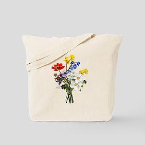 Jean Louis Prevost Bouquet Tote Bag