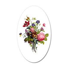 Jean Louis Prevost Bouquet Wall Decal