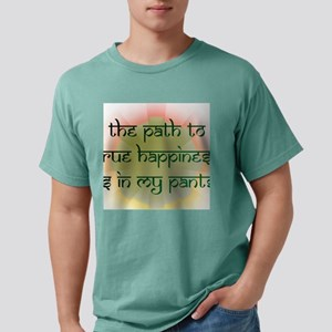 PathToHappiness Mens Comfort Colors Shirt