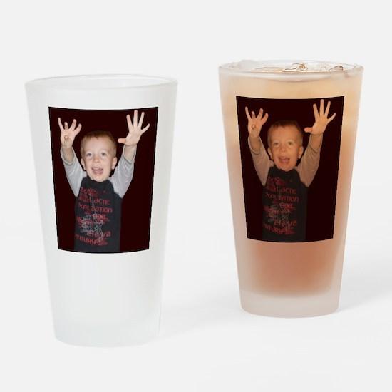 HuxleyHandsHigh Drinking Glass
