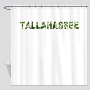 Tallahassee, Vintage Camo, Shower Curtain