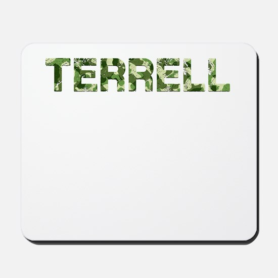 Terrell, Vintage Camo, Mousepad
