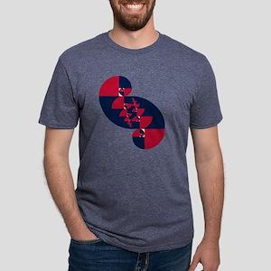 fib rwb II t shirt Mens Tri-blend T-Shirt