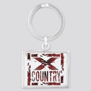 Cross Country Landscape Keychain
