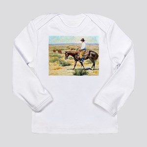 Cowboy Painting Long Sleeve Infant T-Shirt