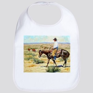 Cowboy Painting Bib