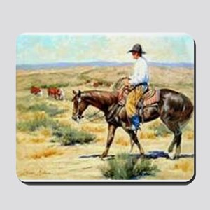 Cowboy Painting Mousepad