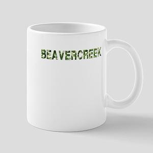 Beavercreek, Vintage Camo, Mug