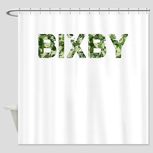 Bixby, Vintage Camo, Shower Curtain