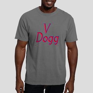 v dogg red Mens Comfort Colors Shirt