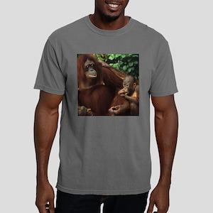 Bornean Orangutan with B Mens Comfort Colors Shirt