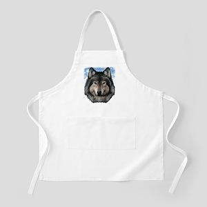 Wolf Head 2 Apron