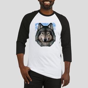 Wolf Head 2 Baseball Jersey