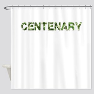 Centenary, Vintage Camo, Shower Curtain