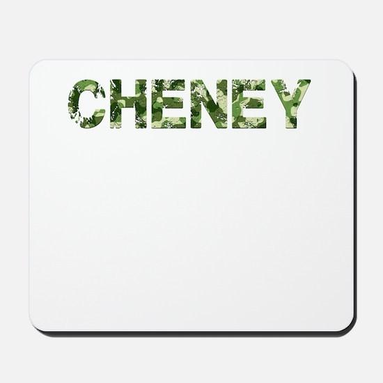 Cheney, Vintage Camo, Mousepad