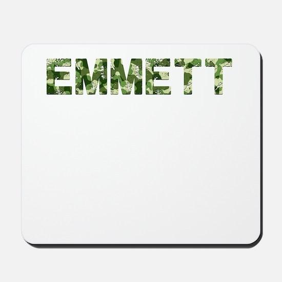 Emmett, Vintage Camo, Mousepad