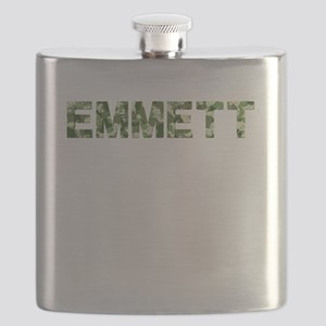 Emmett, Vintage Camo, Flask
