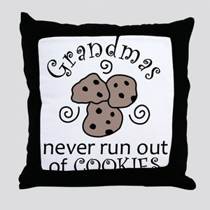 Cookies Throw Pillow