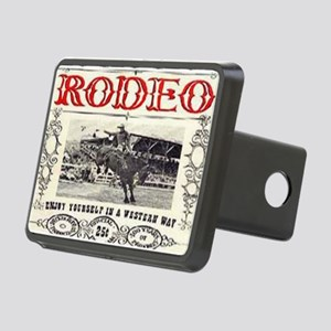 Vintage Rodeo Rectangular Hitch Cover