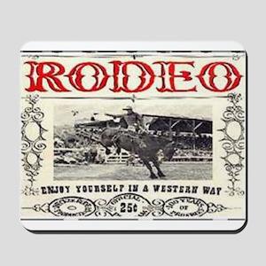 Vintage Rodeo Mousepad