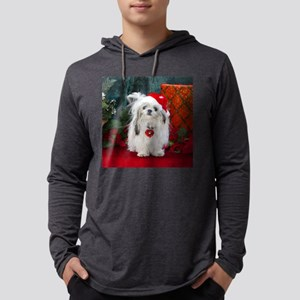 PeachesWatercolorSq Mens Hooded Shirt