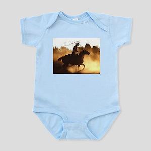 Roping Cowboy Infant Bodysuit