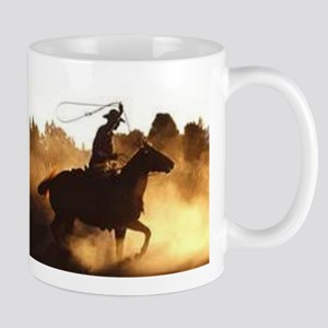 Roping Cowboy Mug