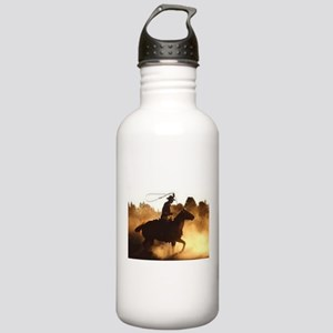 Roping Cowboy Stainless Water Bottle 1.0L