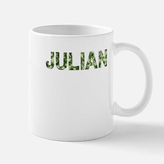 Julian, Vintage Camo, Mug