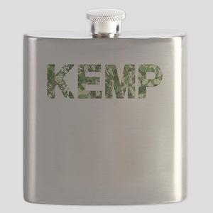 Kemp, Vintage Camo, Flask