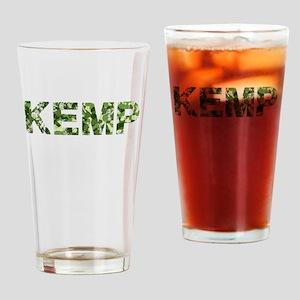 Kemp, Vintage Camo, Drinking Glass