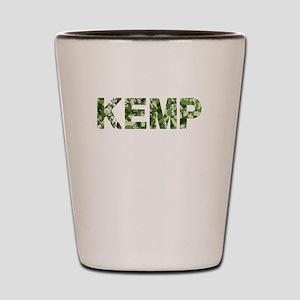 Kemp, Vintage Camo, Shot Glass