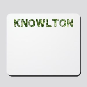 Knowlton, Vintage Camo, Mousepad