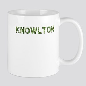 Knowlton, Vintage Camo, Mug