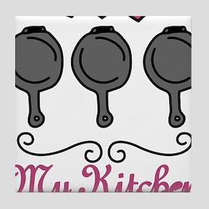 My Kitchen Tile Coaster
