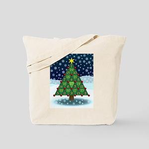 Advent Sum Christmas Tree Tote Bag