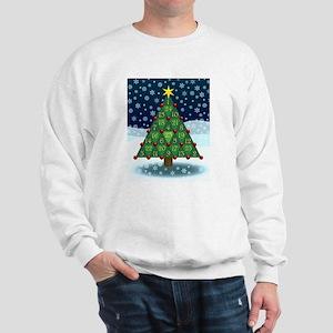 Advent Sum Christmas Tree Sweatshirt