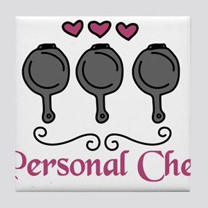 Personal Chef Tile Coaster