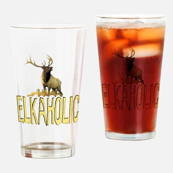Cute Elk Drinking Glass