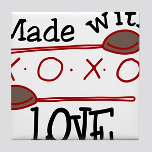 Made With Love Tile Coaster