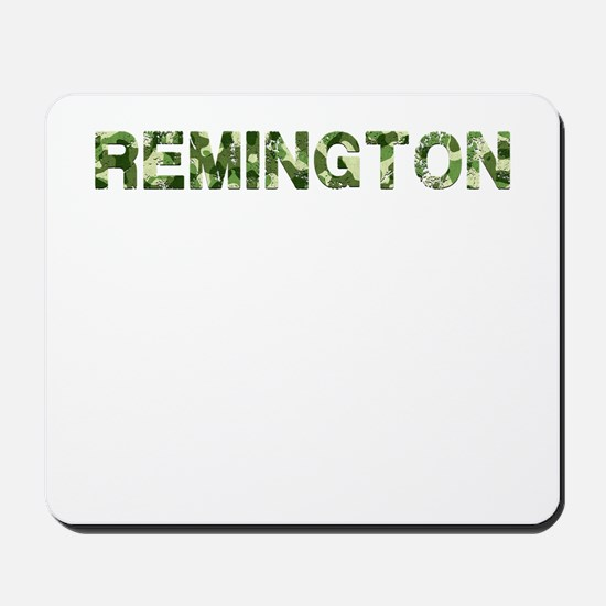 Remington, Vintage Camo, Mousepad